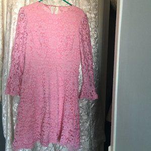 Betsey Johnson Pink Sheath Dress